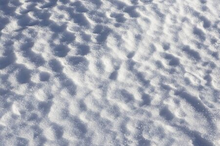 hillock: Background with pattern in fresh snow surface