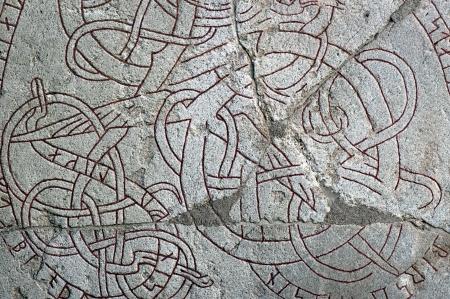 runes: fond avec des runes grav�es sur la pierre ancienne