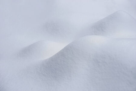 heaps: Smooth background with heaps of new snow Stock Photo