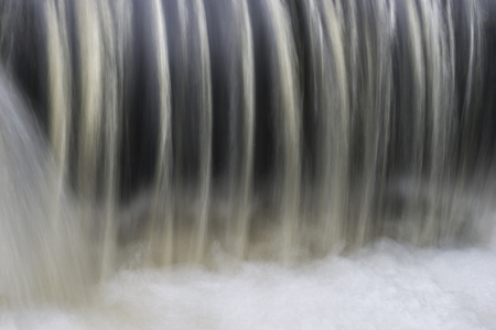 waterfall: Close up of water in waterfall or dam