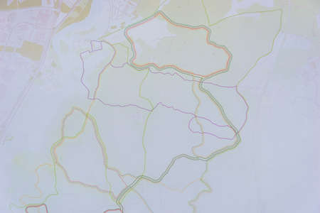 background with worn faded generic simplistic map