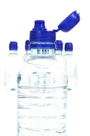 Openned bottle photo