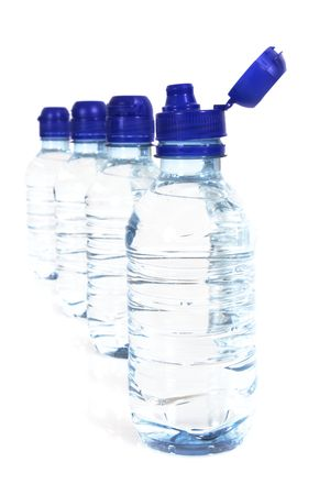 Bottle of water photo
