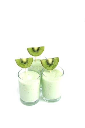 kiwi smoothies Stock Photo - 5565665