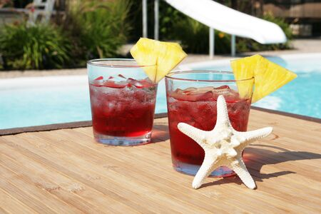 thirsting: Cocktails by the pool