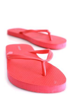 Beach sandals  Banco de Imagens