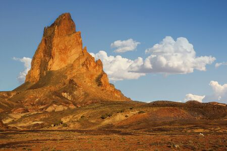 Beautiful rock formation at Monument Valley, Utah Stock Photo - 13985195
