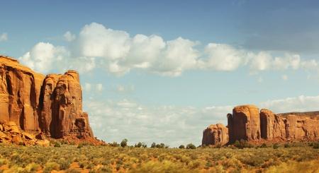 Beautiful landscape at Monument Valley, Arizona, usa Stock Photo - 13985161