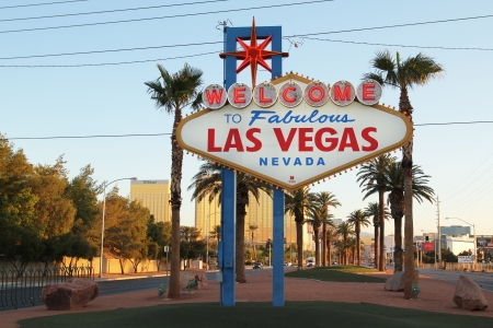The fabulous Welcome Las Vegas sign
