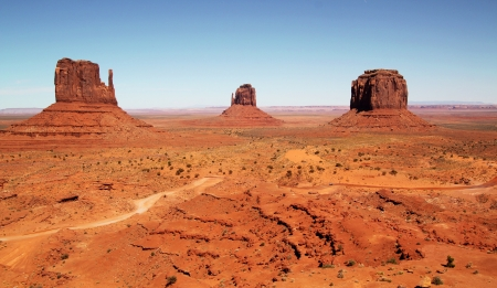 monument valley: Beautiful and classic landscape at Monument Valley