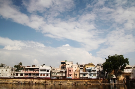 View of Udaipur city in Rajasthan, north of India