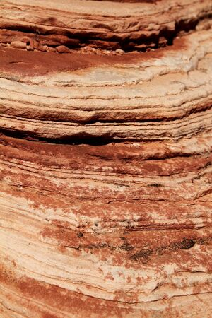 Close up of  red rock at red rock canyon in Nevada Stock Photo - 21376589
