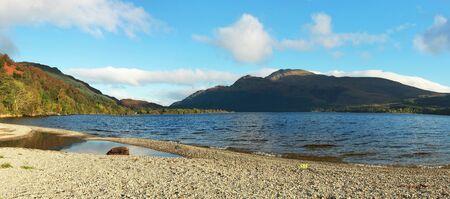 trossachs national park: Banks of Loch Lomond, the Trossachs National Park Scotland UK