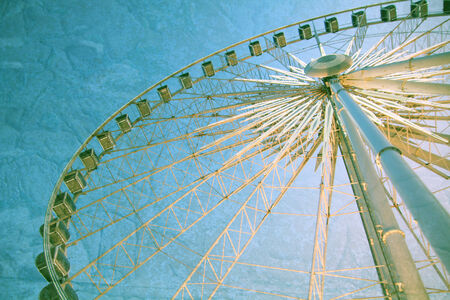 Niagara skywheel on clifton street 에디토리얼
