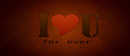 declaration: I love you for ever