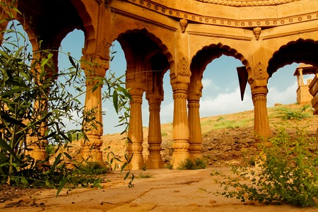 Vyas chhatri, or vyas cenotaphs , has built by Brahmin as memoir are of 15th century full of art and stone carving