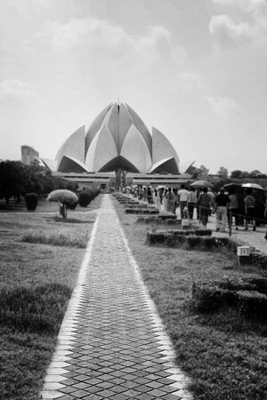 lotus temple: The Lotus Temple is Located in New Delhi, India. Shaped as a flowers, It Has Won Numerous architectural awards and featured in beens Hundreds of newspaper.