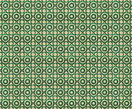 tillable: Collage of green pattern tiles in Lisbon, Portugal repeated to create a seamless, tillable pattern.