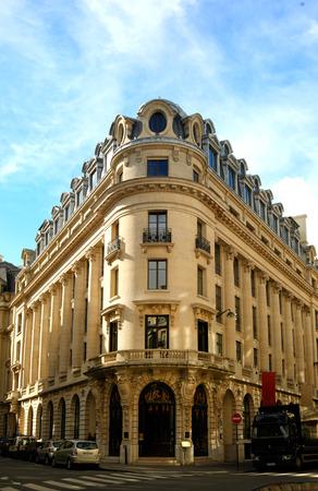 immeuble typiquement parisien du 9ème arrondissement de Paris, France