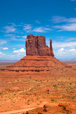 Butte in Monument Valley in Arizona, United States