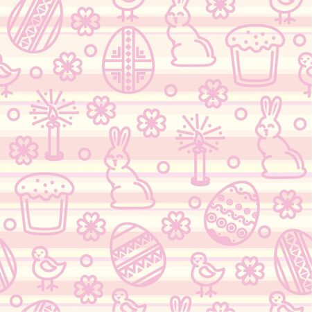 Easter seamless pattern Stock Vector - 10032762