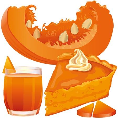 pumpkin seeds: Pumpkin pie and juice