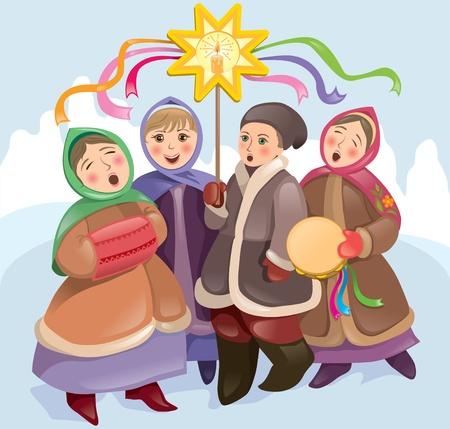 muff: Christmas songs Illustration