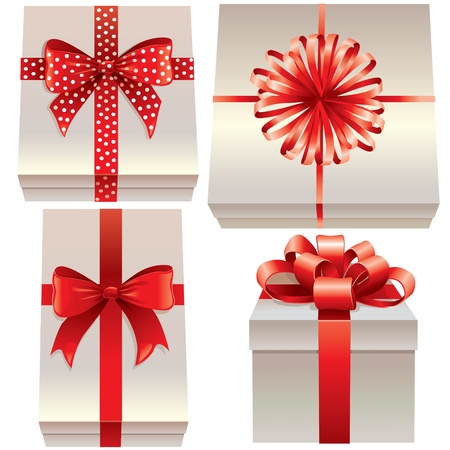 bows and ribbons: Gift Box with Bow