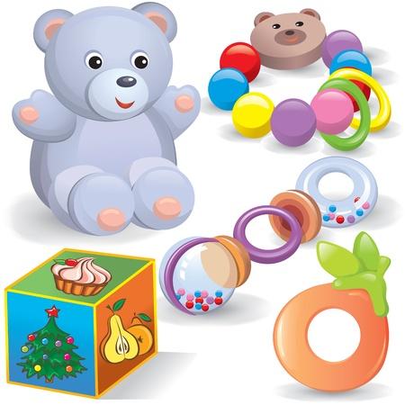 tree toys: Baby toys set