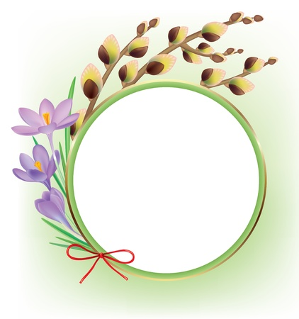 Spring composition. Contains transparent objects. Stock Vector - 17229994