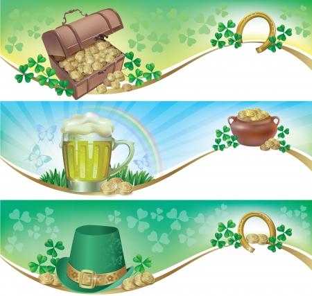 horseshoe: St  Patrick