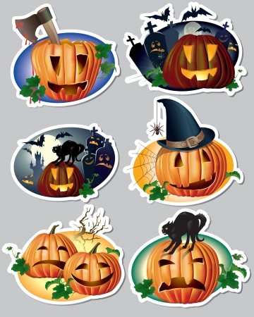 grimace: Halloween stickers. Contains transparent objects.
