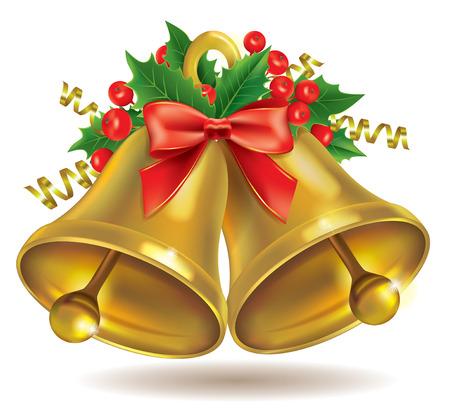 campanas navidad: Campanas de Navidad. Contiene los objetos transparentes.