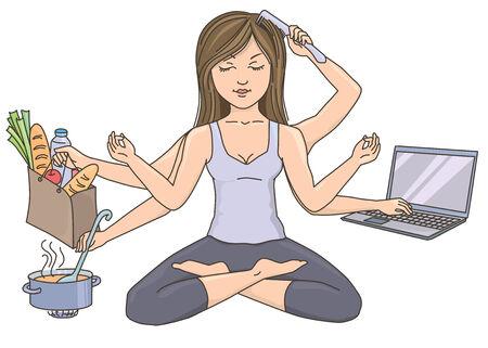 Yoga, el trabajo, la armonía, el nirvana