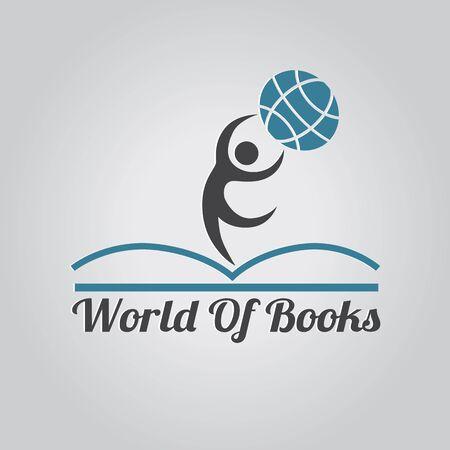 book logo: Logo libro.
