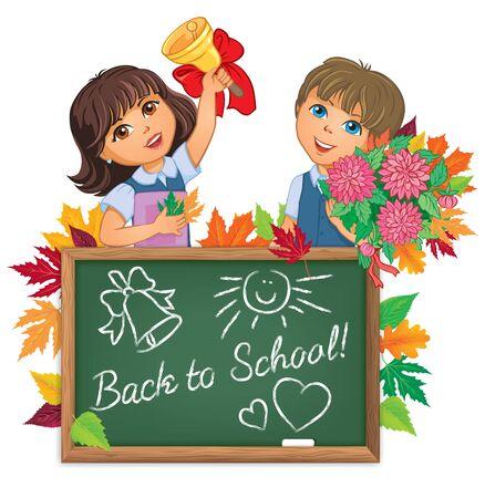 school board: Kids back to school board
