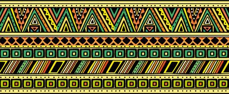 Bright horizontal ethnic pattern. Reklamní fotografie - 120468481