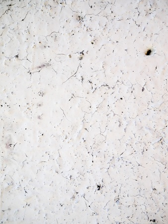 third world: white crack wall  in third world