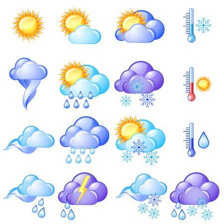 Weather icon set Stock Vector - 7730201