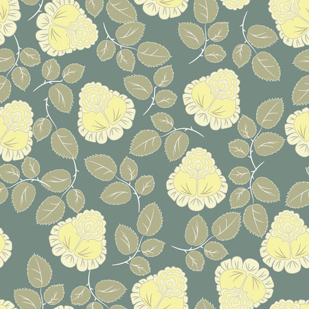 indoor bud: Roses pattern seamless background