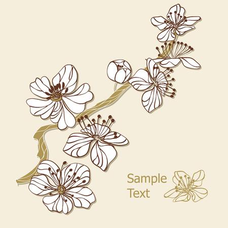 flor de durazno: Rama de Apple
