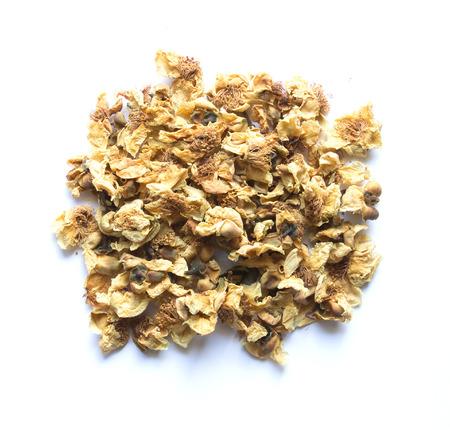 oolong: loose-tea , Oolong flower tea Stock Photo