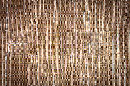vignette: Brown synthetic fabric pattern with vignette background