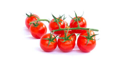 Fresh Tomato on white background  Stock Photo