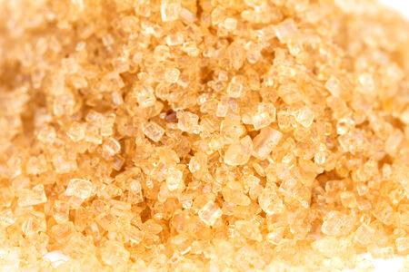 close up brown sugar , selective focus Banco de Imagens