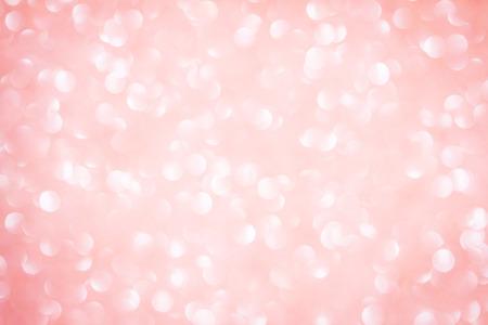 Abstracte blure zoete roze bokeh verlichting in de nacht geschoten als achtergrond