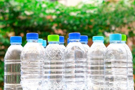 plastic bottle the  fresh drink water