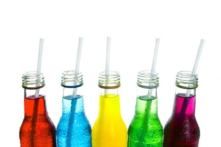close up  the cool colorful drink Zdjęcie Seryjne