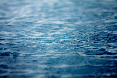 close up Ocean and  sea water surface , selective focus Banco de Imagens