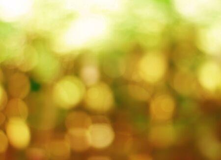 lighting background: Abstract golden bokeh lighting background Stock Photo